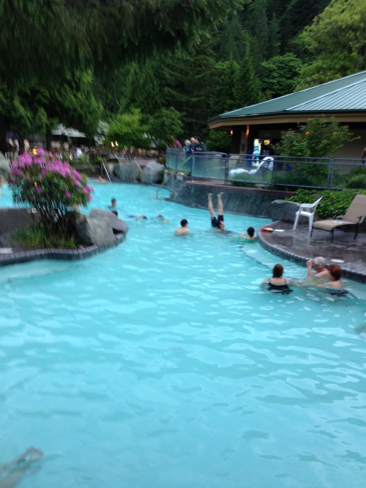 Spa Girl Spa Girl spotted at Harrison Hot Springs Resort